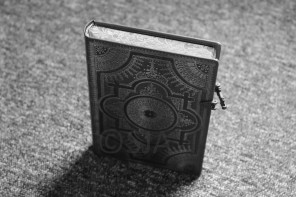 Black and white book ©SJA